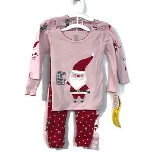 Carter's Just One You 4 piece Christmas Pajamas